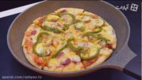 آموزش پیتزا تابه ای