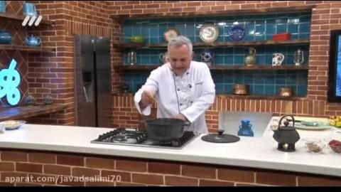 آموزش آشپزی بهونه -طرز تهیه حلیم گندم بسیار خوشمزه