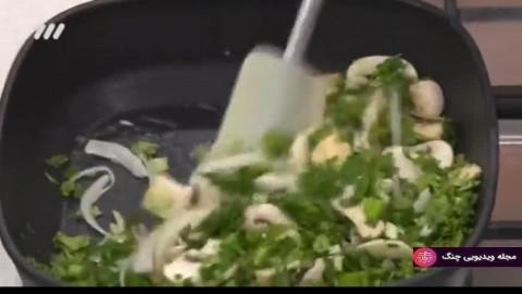 آموزش آشپزی بهونه  - بوریتو مرغ و سبزیجات