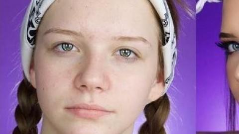 فیلم آموزش میکاپ لایت دخترانه + آرایش مجلسی