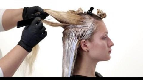 فیلم آموزش هایلایت کردن مو در یک مرحله