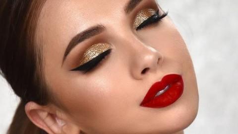 فیلم آموزش آرایش دخترانه با سایه چشم اکلیلی + پوشش خال صورت با میکاپ