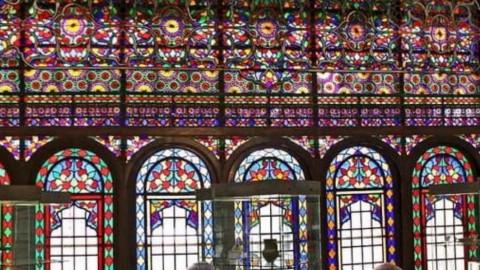 پنجره خانه های قدیمی قاجار