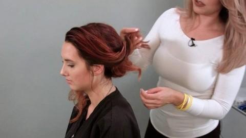 کلیپ آموزش شینیون مو برای افراد مبتدی