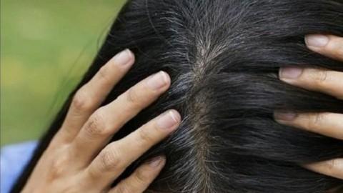کلیپ درمان سفیدی مو با ماسک مو خانگی