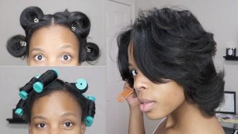 کلیپ خودآرایی و کراتینه مو کوتاه